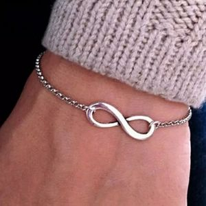 Jewelry - NEW 925 STERLING SILVER PLATED INFINITY BRACELET